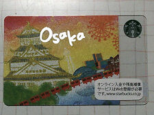 Starbucks Gift Card JAPAN City Osaka 2012