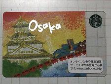 Starbucks Gift Card JAPAN City Osaka 2012