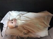 "Gerber Christening Baby doll 12"" 1979 Atlanta Novelty"