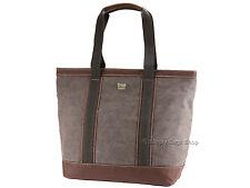 Troop London Ladies Canvas Shoulder Shopper Tote Bag Handbag In Black - TRP0367