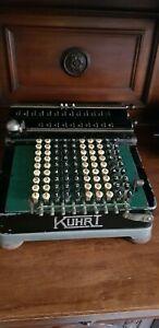 Antica Calcolatrice Meccanica anni '20 KUHRT