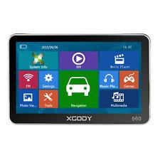 XGODY 8GB 5'' GPS SAT Nav Navigation Device Free Canada Lifetime Maps Speedcam