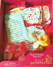 Our Generation Duck & Bubbly Bath Set  3+ NEW