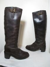 FREE LANCE CLASSICS WOMEN BROWN LEATHER SLIP RESISTANT SOLE TALL BOOTS 40 US 9.5