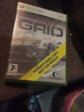 GRID Microsoft Xbox 360 Boxed Promotional Copy Promo PAL