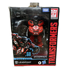 Transformers Studio Series 68 Deluxe Class Leadfoot 7 inch Action Figure ?New?