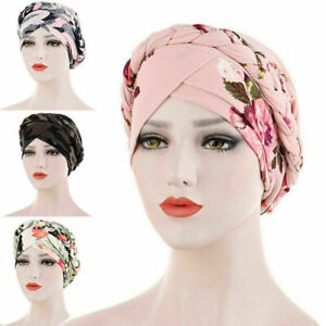Women Ladies Hair Loss Scarf Cancer Chemo Cap Muslim Turban Hat Hijab Head Wraps