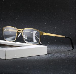 Metal Bronze Transition/Photochromic Multifocal Progressive Reading glasses