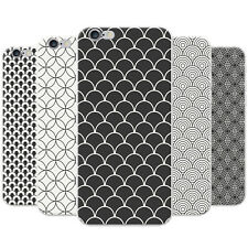 Azzumo Beautiful Circles & Scallops Soft Thin Case Cover For the Apple iPhone