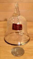 Lenox Lead Crystal Bell Vine Etched