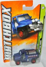 Matchbox 2011 MBX JUNGLE - FOAM FIRE TRUCK - blue - #5/10