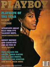US-Playboy Juni/06/1990    CARRÈ OTIS & BONNIE MARINO