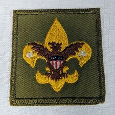 Vintage Boy Scout of America Tenderfoot Boy Scout Badge Cloth Patch 50s-60s