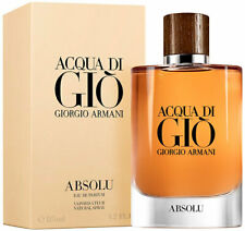 Giorgio Armani eau de Parfum Gio Absolu 100 ml men's fragrance of Wood