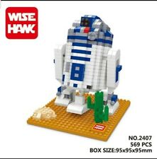 R2D2 Star Wars Wise-hawk Nano Block Lego Building blocks Gift Disney