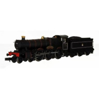 Dapol 2S-010-004D N Gauge BR Black 5908 Moreton Hall DCC FITTED