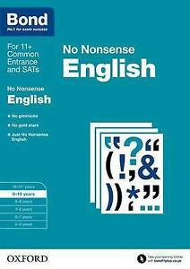 Bond: English: No Nonsense 9-10 years by Frances Orchard 9780192740434