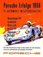 ADVERT VINTAGE CAR RACING ILLUSTRATION ART POSTER PRINT LV308
