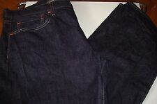 """Uniqlo Selvedge indigo fit straight Mid Rise tagged 36"""" Waist - 32"""" IS Zip fly"""