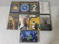 Cassette Tape Lot 9 Mix Hard Rock Soundtracks Ded Leppard Slaughter...