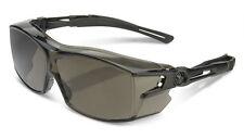 B Brand BBH60S Safety Eye Protection Ergonomic COVER Specs/Glasses SMOKE Lens
