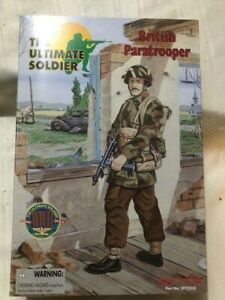 "The Ultimate Soldier 12"" 1/6 Scale Figure WWII BRITISH PARATROOPER 21st Century"