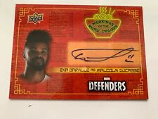 EKA DARVILLE as MALCOLM DUCASSE AUTO Autograph Upper Deck The Defenders RD-ED