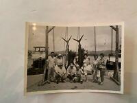 Vintage Acapulco Mexico Marlin Fishing Photograph Circa 1960's A