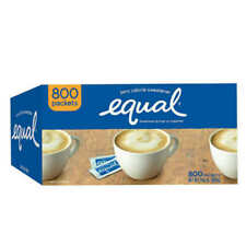 Equal Original Zero Calorie Sweetener Packets - 800 Pieces Pack Of 2