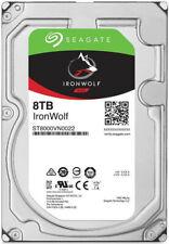 "Disque dur Seagate IronWolf 8To 3.5"" 7200rpm SATAIII 6Gbs 256Mo cache"
