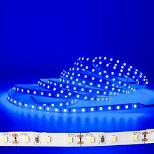 LEDupdates Blue LED Strip 12v High Grade 2835 90CRI + UL Power for Ambient Light