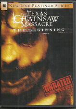 The Texas Chainsaw Massacre: The Beginning (DVD Unrated) w/slipcover