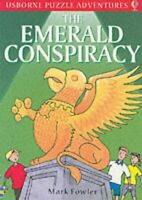 (Very Good)-The Emerald Conspiracy (Puzzle Adventure) (Paperback)-Mark Fowler-07