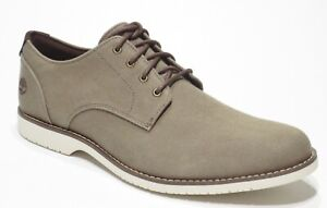 Timberland Men's Woodhull Lightweight Oxford with Memory Foam, Blue Gray Olive