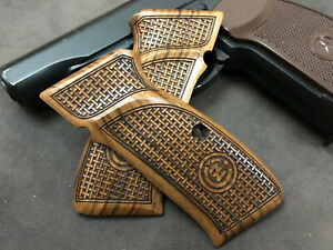 CZ 75 Turkish Walnut Wood Grips. Handmade. **DISCOUNT** For A Limited Time.