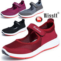 Women Mother Flat Antiskid Breathable Beach Sandals Slip on Trainers Shoes Sizes