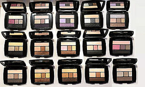 Lancome Color Design Eye Brightening All In One 5 Shade Eyeshadow Liner .07oz/2g