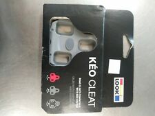 Genuine LOOK KEO Bi-Material Bicycle Cleats fits Classic 4.5 GRAY OPEN PACKAGE