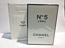 Chanel No 5 L'eau By Chanel Women Perfume EDT Spray 1.7 oz 50 ml NIB Sealed