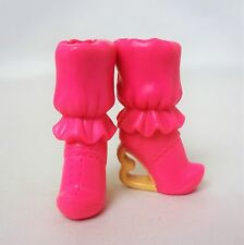 BARBIE Fashionista Bottes Rose & Jaune