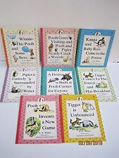 Winnie The Pooh Books by A.A. Milne, Lot of 8 Books