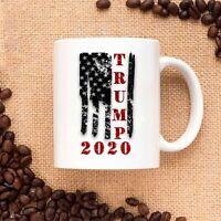 Trump 2020 Vintage Flag Ceramic Coffee Mug Tea Cup