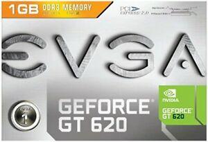 EVGA Nvidia 01G-P3-2625-KR GeForce GT 620 1GB GDDR3 PCI-E LP Video Graphics Card