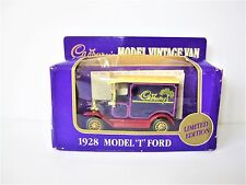 "LLEDO (LONDON) ""CADBURY'S"" DIE-CAST 1928 MODEL T FORD VINTAGE VAN"