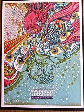 Tobacco  Mini Concert Poster Reprint 2014 Austin TX Gig 14x10 Unsigned