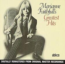 Marianne Faithfull's Greatest Hits by Marianne Faithfull (CD, May-1990, ABKCO Records)
