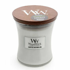 WOODWICK CAMPFIRE MARSHMELLOW SOY WAX HIGH-QUALITY CANDLE - Medium 12cm **NEW**