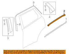 MAZDA OEM 16-18 CX-9 Exterior-Rear-Upper Molding Trim Right TK4850991G
