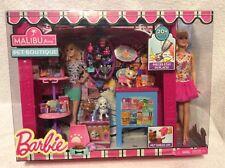 Barbie Malibu Ave Pet Boutique with Barbie Doll Nrfb