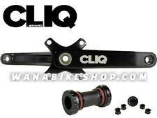 HARO Cliq Weaponz 2-Piece Cranks 180mm Black